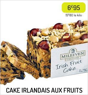 Cake irlandais aux fruits