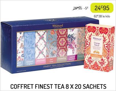 Coffret Finest Tea Whittard of Chelsea