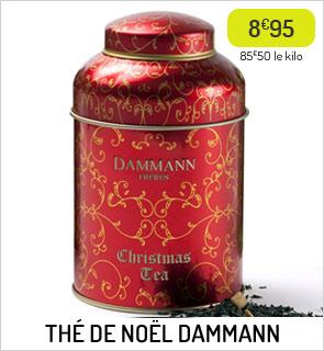 Thé de Noël Dammann Frères