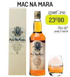 Whisky Mac Na Mara + 1 verre