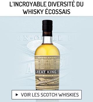 L'incroyable diversité du whisky écossais