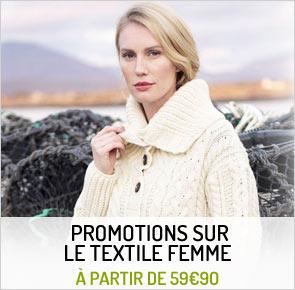 Promotions de novembre sur le textile femme