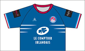 Le Comptoir Irlandais, partenaire officiel de la sélection française de football gaélique