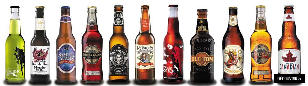 Sélection des bières du mois d'octobre