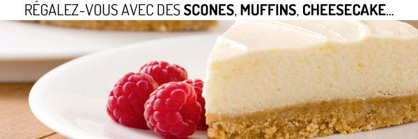 Faites sensation avec ces préparations pour réaliser des muffins, cheesecake, brownies ou encore de délicieux scones !