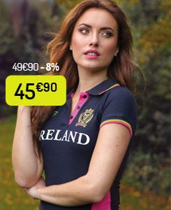 Polo Ireland Femme