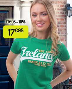 T-shirt femme Ireland