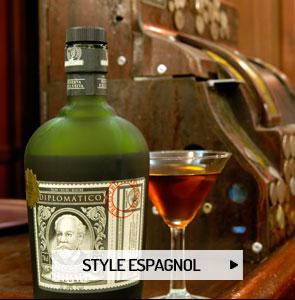 Le rhum de style espagnol
