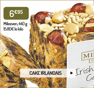 Cake aux fruits irlandais