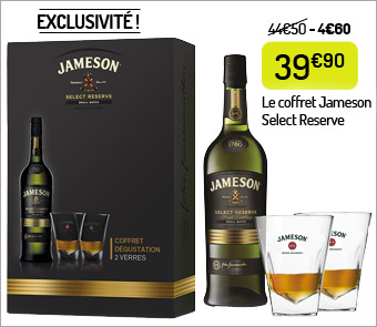 Le coffret Jameson Select Reserve
