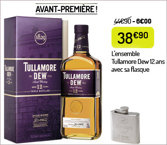 Whiskey Tullamore Dew 12 ans