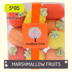 Marshmallow salade de fruits