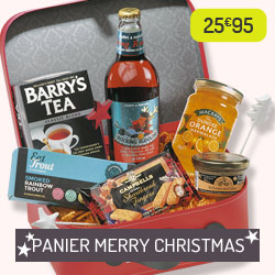 """Panier de Noël """"Merry Christmas"""""""