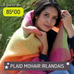 Plaid Mohair Irlandais