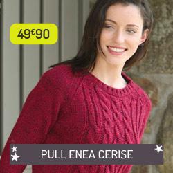 Pull Enea Cerise