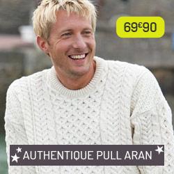 Pull Aran authentique
