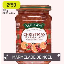 Marmelade de Noël Mackays