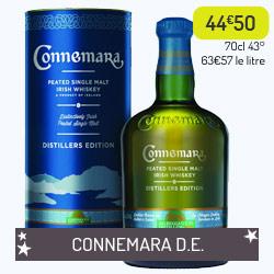 Whiskey Connemara Distillers Edition