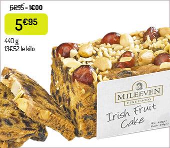 Le cake aux fruits irlandais