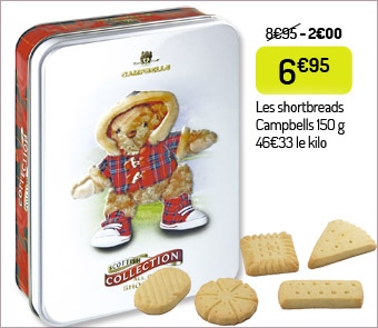 Shortbreads Campbells