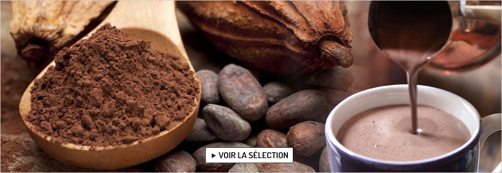 Avec le chocolat, partager un pur moment de gourmandise...