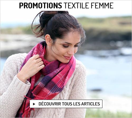 Promotions de février sur le textile femme
