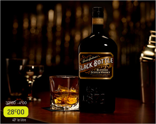 Whisky écossais Black Bottle