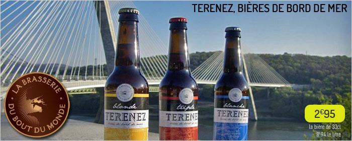 Terenez, bières de bord de mer