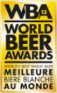 Prix de la meilleure bière blanche au monde 2013