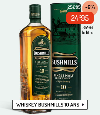 Whiskey Bushmills 10 ans