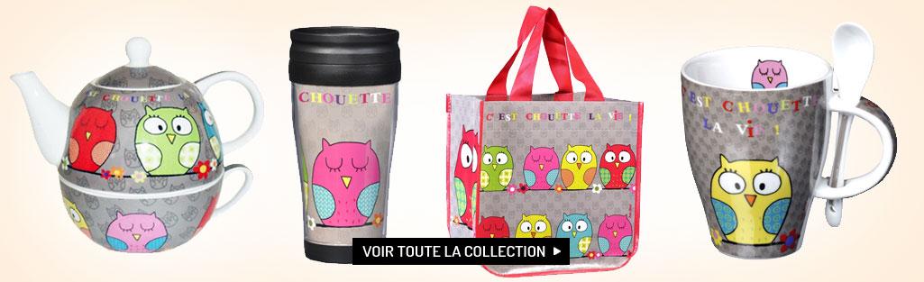 Collection cadeaux C'est Chouette la Vie !