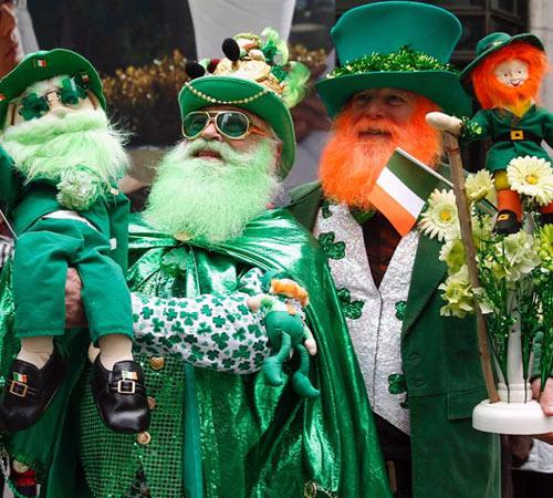 Fête de la Saint-Patrick en Irlande