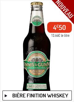 Bière Innis & Gunn Irish Whiskey Finish