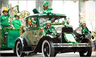 Tous irlandais le 17 mars pour fêter la Saint-Patrick