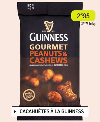 Cacahuètes Guinness