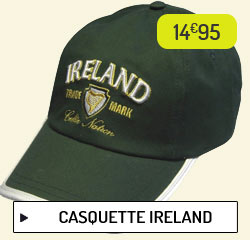 Casquette Ireland
