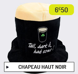 Chapeau haut noir