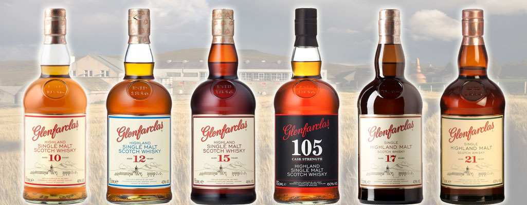 Les whiskies Glenfarclas