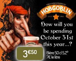 Bière Hobgoblin Halloween