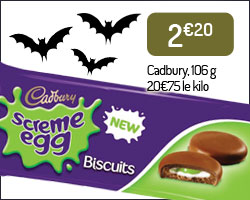 "Biscuits ""Screme Egg"" Cadbury"