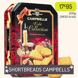 Biscuits écossais Shortbreads Campbells