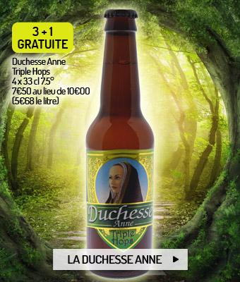 Bière blonde bretonne Lancelot Duchesse Anne Triple Hops