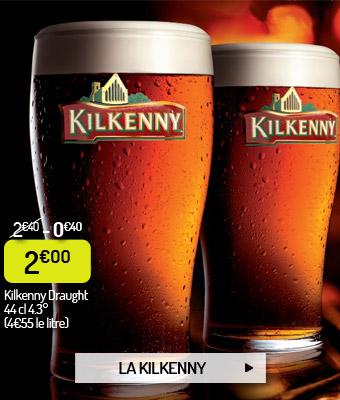 Bière ambrée irlandaise Kilkenny