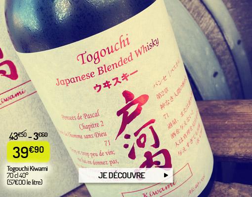 Togouchi Kiwami, whisky japonais
