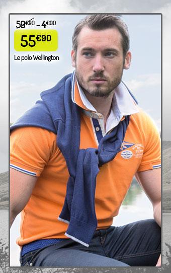 Polo Wellington Black Wellis