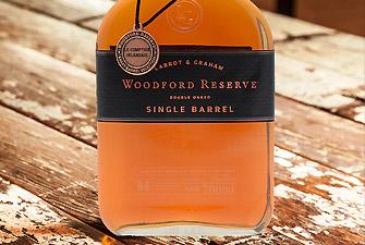 Woodford Reserve Single Barrel, spécialement sélectionné pour Le Comptoir Irlandais