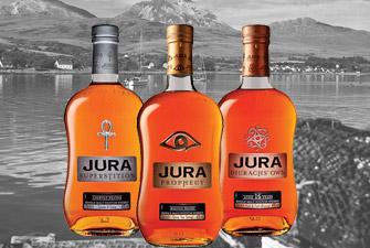 Le whisky écossais Jura
