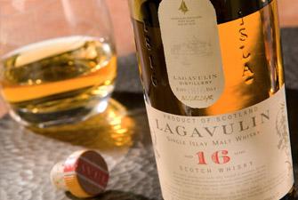 Le whisky écossais Lagavulin