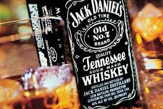 Le whiskey américain Jack Daniel's