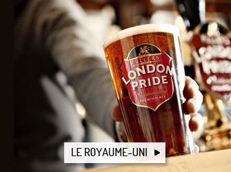 Les bières du Royaume-Uni